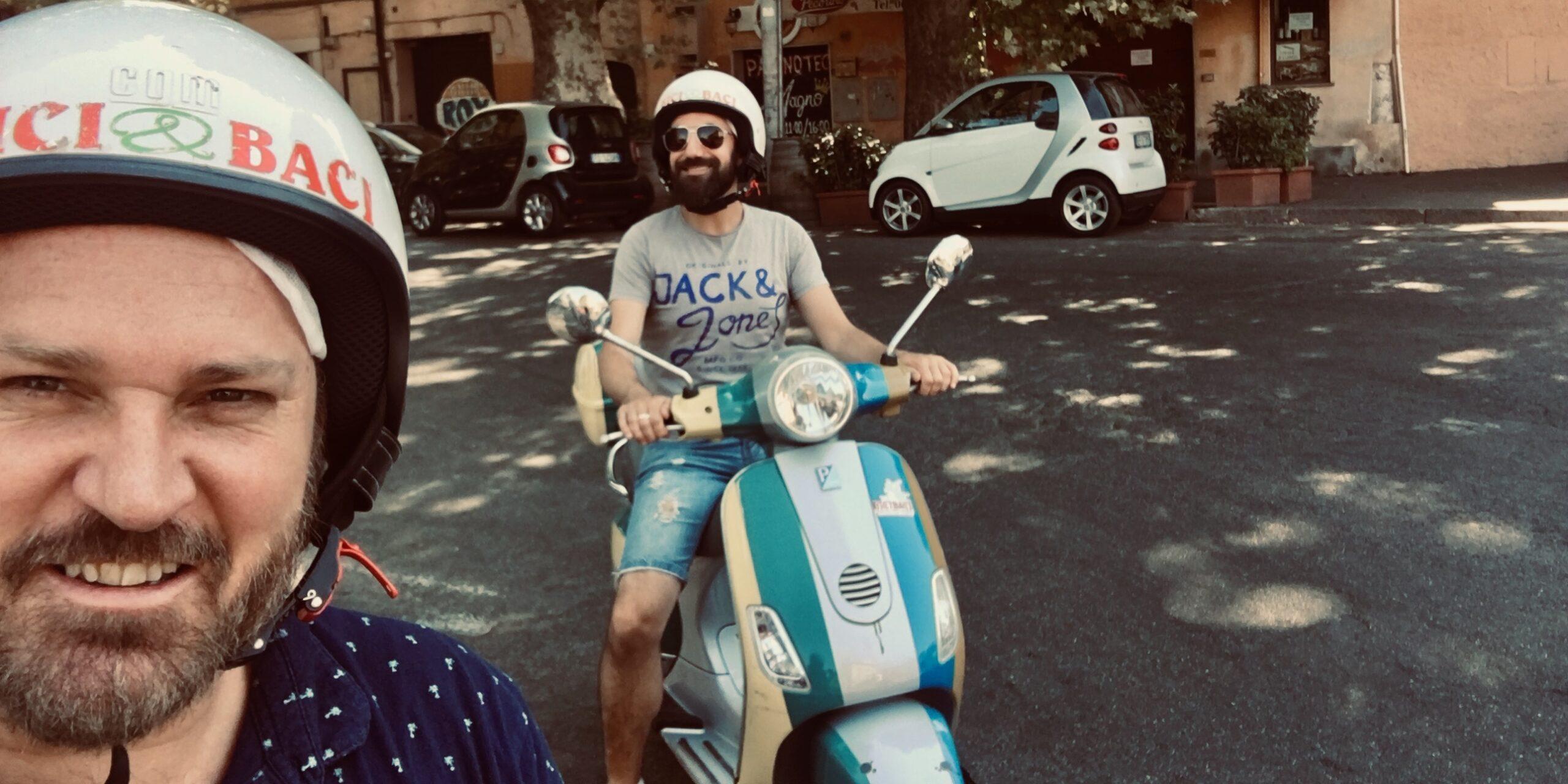 Vespa Rome Small Group Tour
