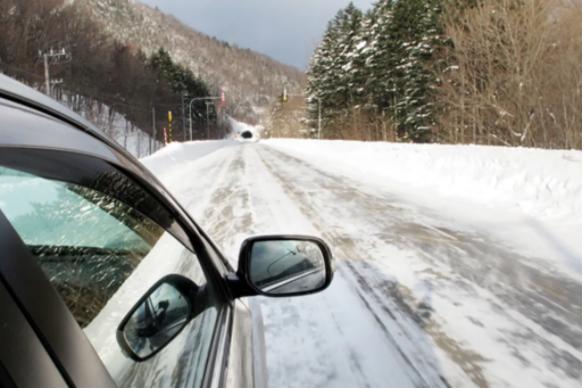 Japan Snow Driving