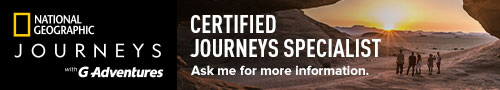 Ed at Go West Travel is a National Geographic Journeys expert